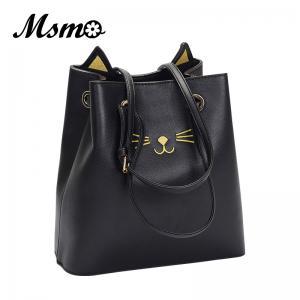 3bdc211a2f MSMO Sailor Moon Bucket bag Samantha Luna Style Cat Ladies Hand Bags